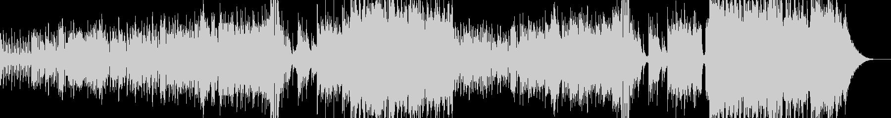 ハロウィンナイト・異世界風ワルツ Cの未再生の波形