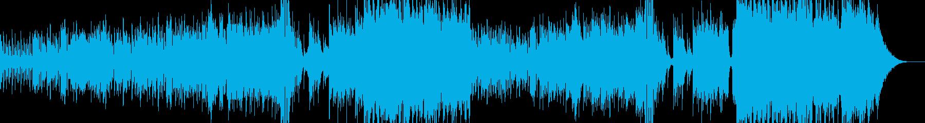ハロウィンナイト・異世界風ワルツ Cの再生済みの波形