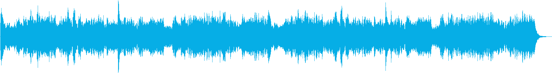 極上ヒーリングミュージック、これ眠れますの再生済みの波形