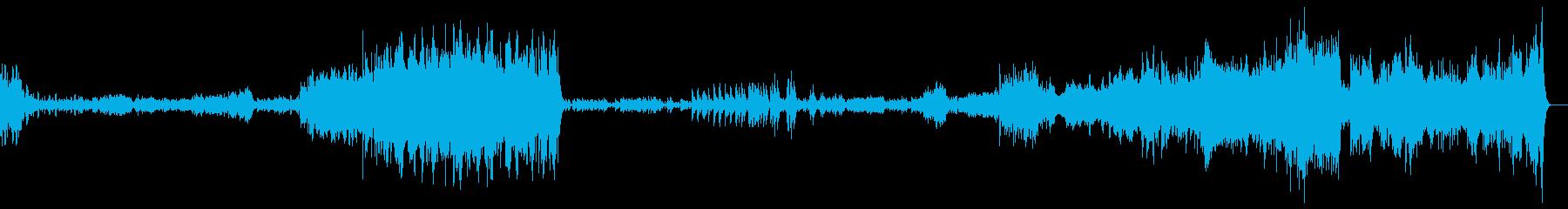 軽快さと不気味さを持ったクラシック音楽の再生済みの波形