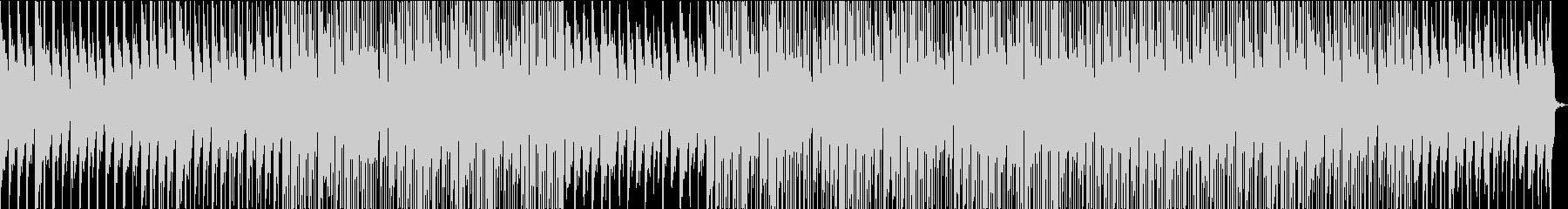 ローファイオーガニック・おしゃれな映像の未再生の波形