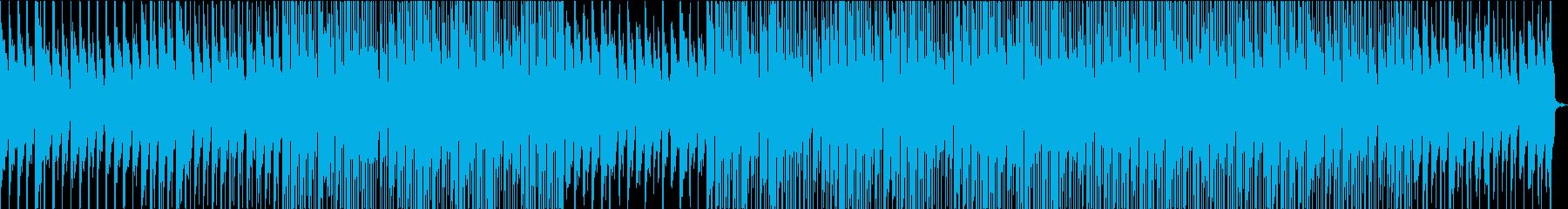 ローファイオーガニック・おしゃれな映像の再生済みの波形