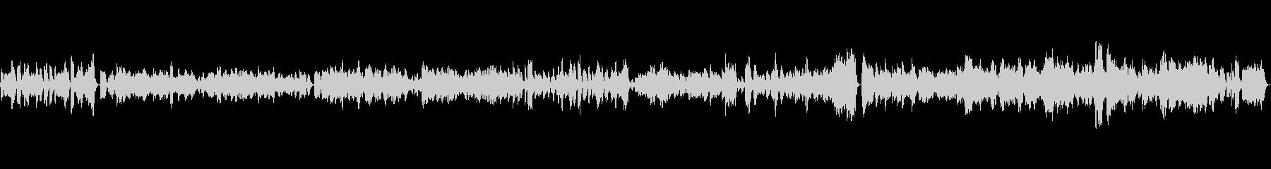 ゆったりと陽気な音楽/フルート多重録音の未再生の波形