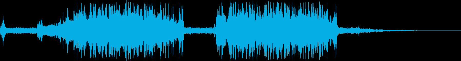 バンドソー、モダン、カッティングハ...の再生済みの波形