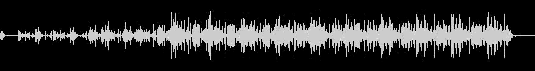 スローテンポノービートバージョンの未再生の波形