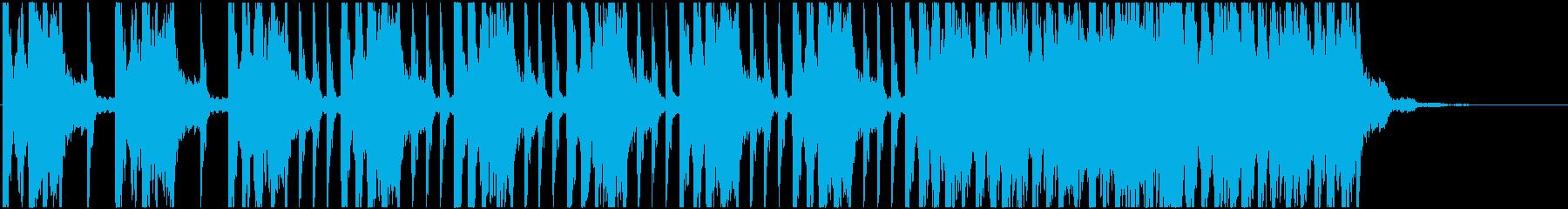 緊張 恐怖 不安 <弦楽器B+4つ打ち>の再生済みの波形