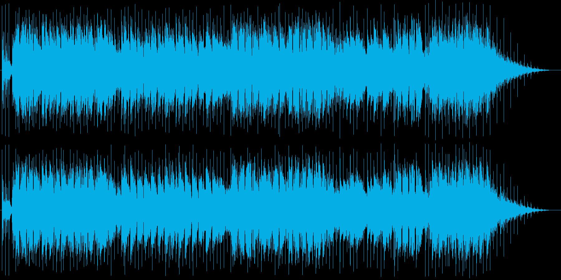 小気味好いリズムとギターのメロディーの再生済みの波形