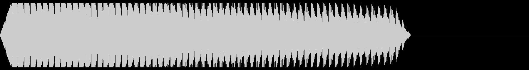 ビー!(エラーアラート/警告/失敗ミスの未再生の波形