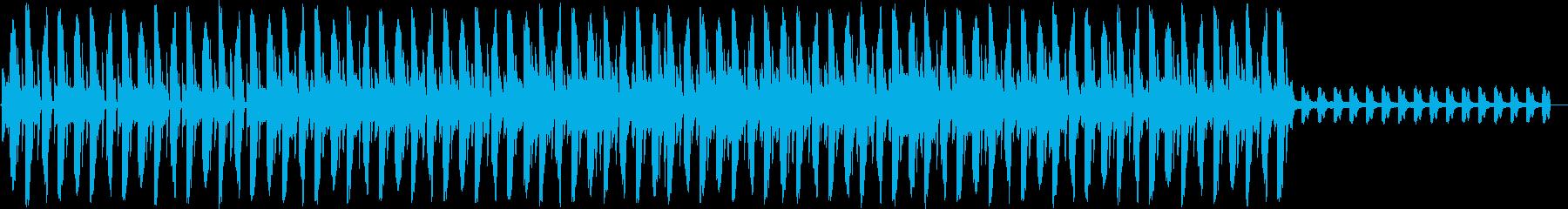 アフリカ風。ニューディスコの再生済みの波形