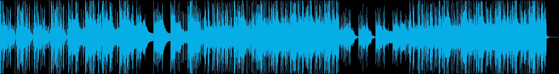 シンセとストリングスの夢の中のポップスの再生済みの波形