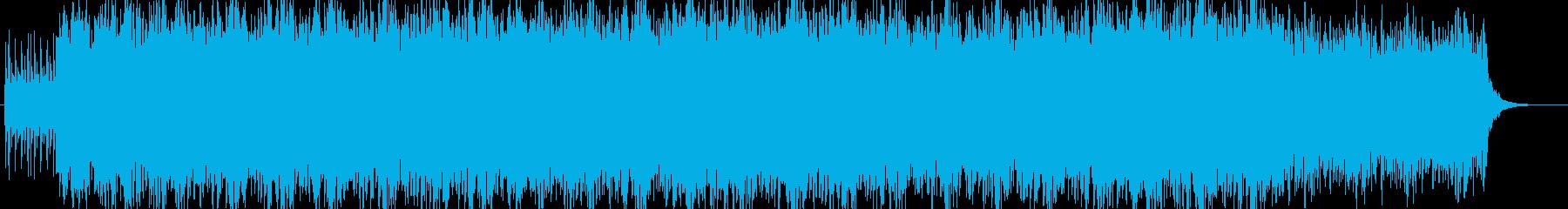 ゆったりと優しいポップヒーリングBGMの再生済みの波形