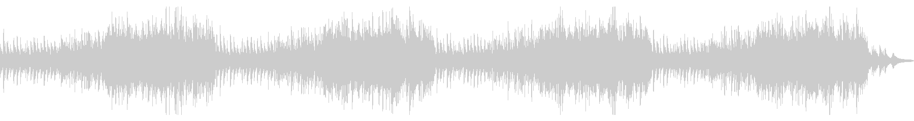 Christmas! Cute and bright orchestra's unreproduced waveform
