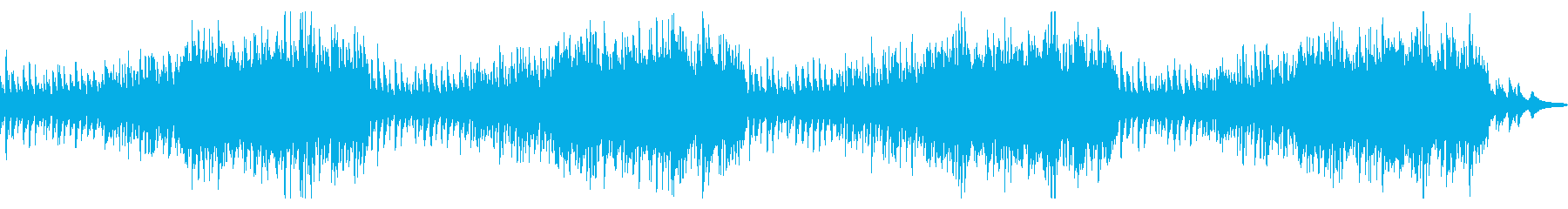 Christmas! Cute and bright orchestra's reproduced waveform