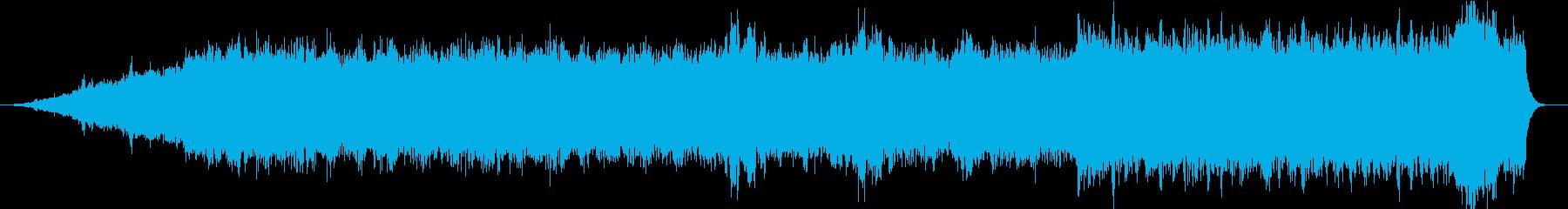 キンモクセイ-メロトロン・クワイアの再生済みの波形
