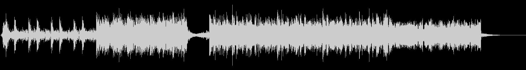 劇伴ロック オーケストラ 60秒バンド版の未再生の波形