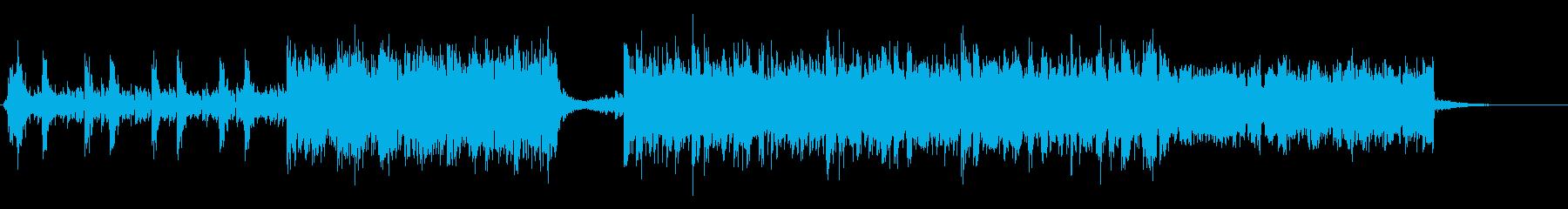 劇伴ロック オーケストラ 60秒バンド版の再生済みの波形