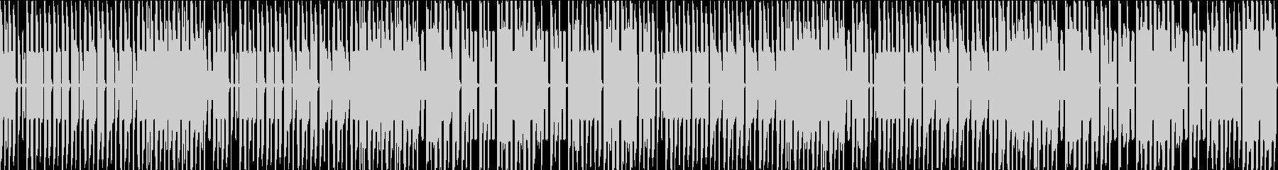 FC風ループ おかしな雰囲気の未再生の波形