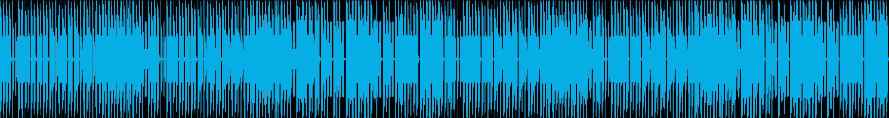 FC風ループ おかしな雰囲気の再生済みの波形
