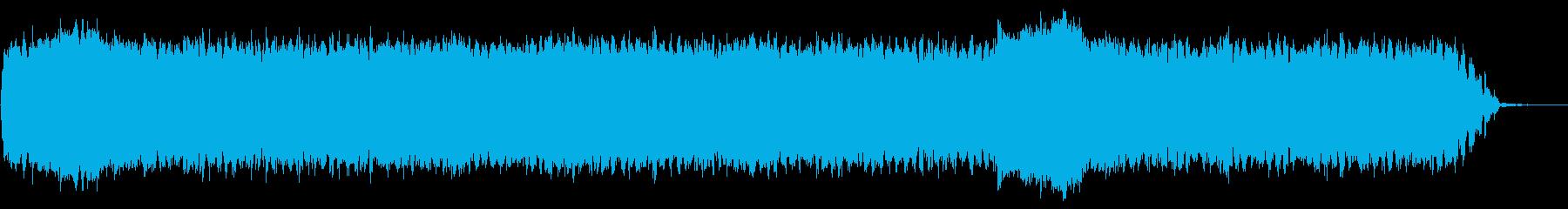 怖すぎるBGM/心霊/不気味/ホラーの再生済みの波形