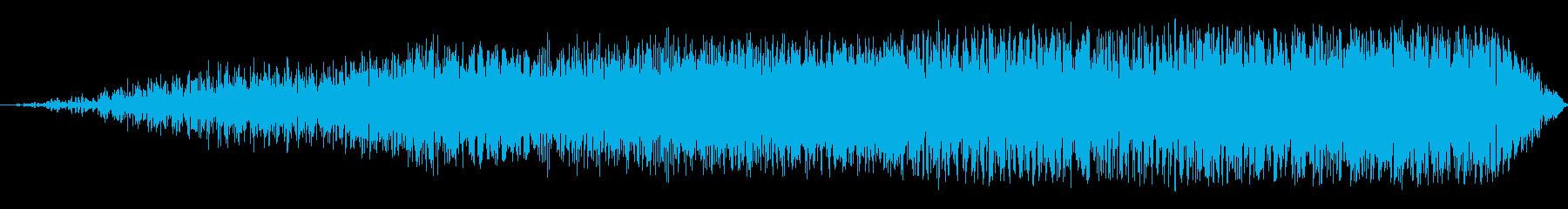 ビッグシンセビルドアップの再生済みの波形