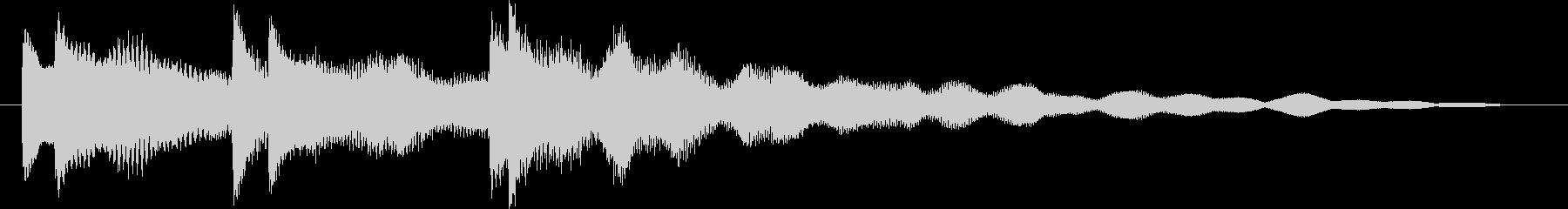 ティロンティロンティローンの未再生の波形