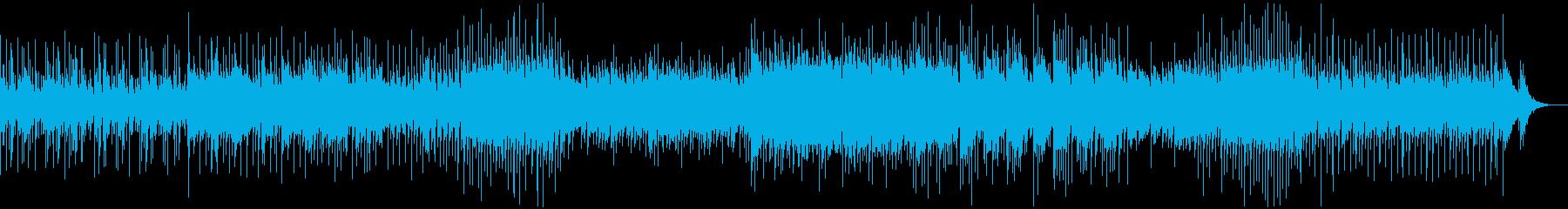 ほのぼのしたメロディのポップスの再生済みの波形