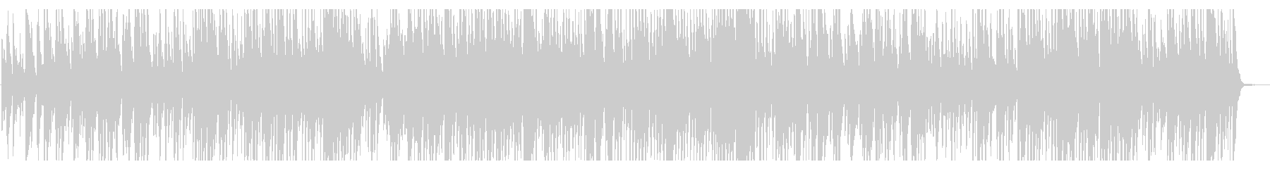 jazz ほのぼの 優雅 ティータイム の未再生の波形