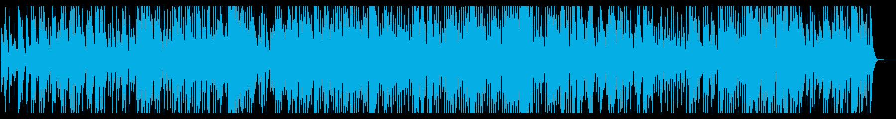 jazz ほのぼの 優雅 ティータイム の再生済みの波形