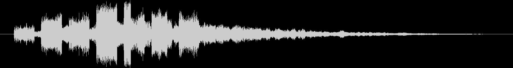 洗練されたYouTubeのタイトル用SEの未再生の波形