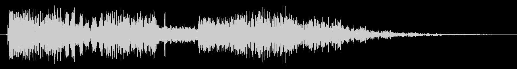 チューナーヒットの未再生の波形