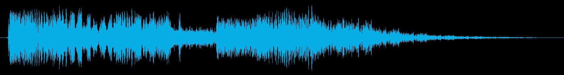 チューナーヒットの再生済みの波形