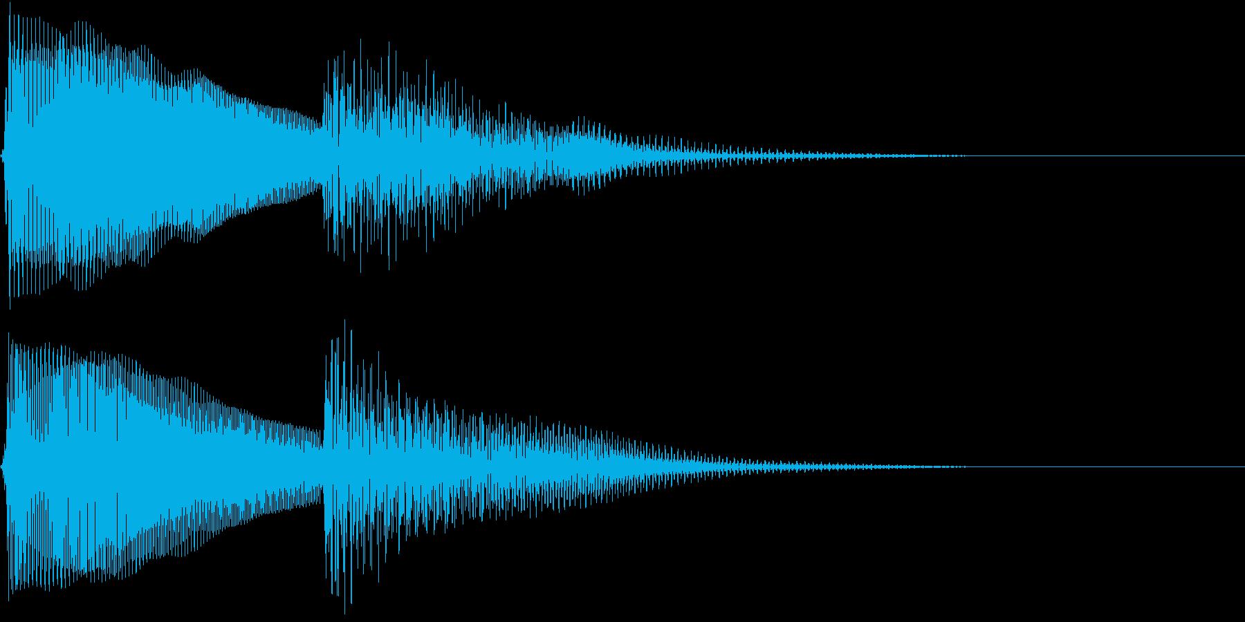 Anime チンプンカンプンで首を傾げるの再生済みの波形