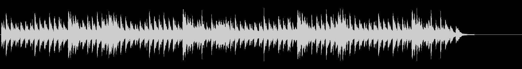 メヌエット BWV814(バッハ作曲)の未再生の波形