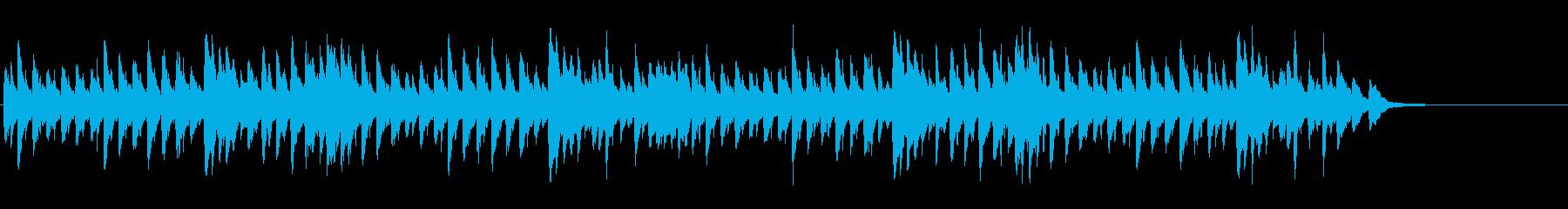 メヌエット BWV814(バッハ作曲)の再生済みの波形