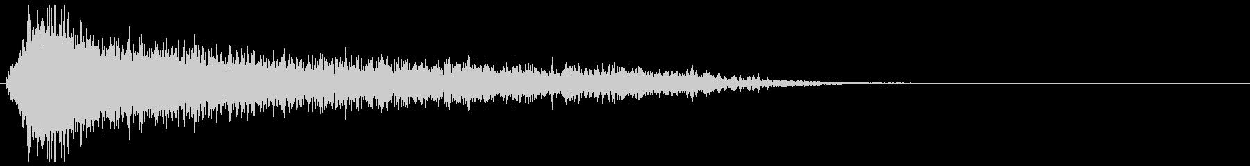 サスペンスピアノ音_1-1の未再生の波形