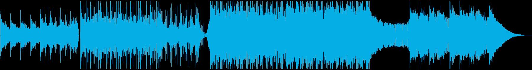 実験的な岩 バックシェイク ポップ...の再生済みの波形