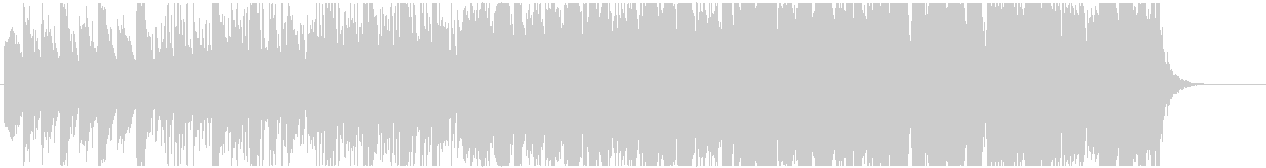 Elegant romantic BGM's unreproduced waveform
