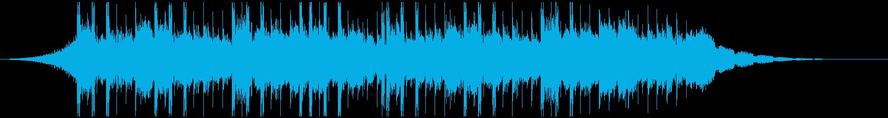 テクノロジーミュージック(ショート)の再生済みの波形