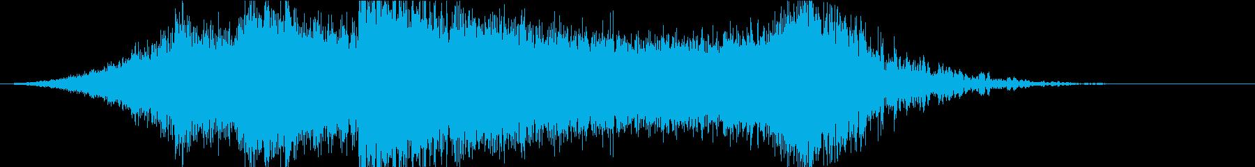 シネマトレーラー1MIDDLE_Sの再生済みの波形