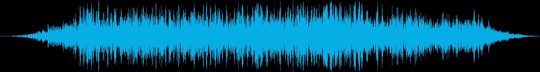 ヘビーローレザー摩擦摩擦の再生済みの波形