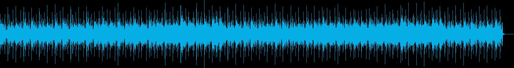 ヴァイオリンとピアノの穏やかな日常曲の再生済みの波形
