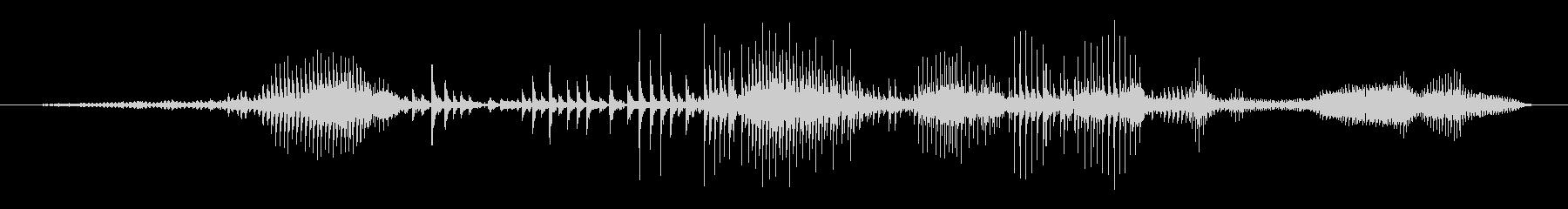 木 クリークスローポリフォニック01の未再生の波形