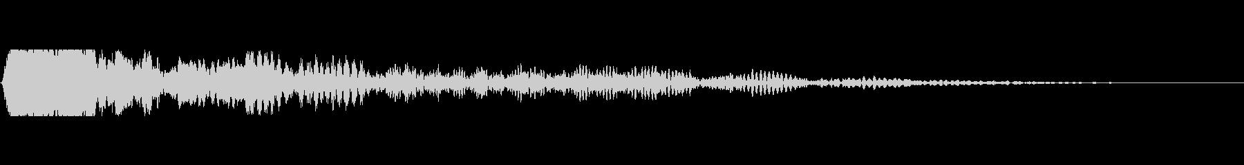 ポドラサー2の未再生の波形