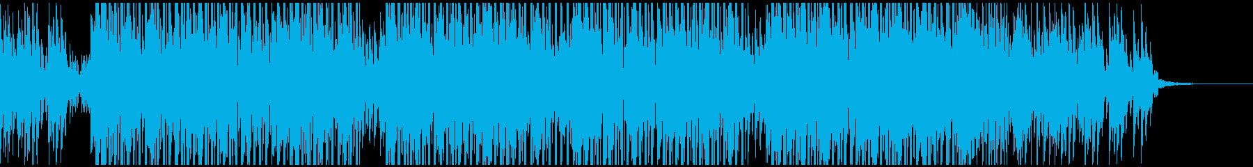 ゲーム・映像等に キュートなテクノポップの再生済みの波形