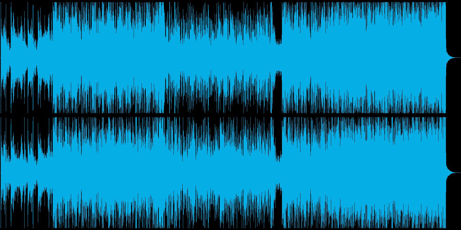 不穏な雰囲気を感じるBGM 戦闘曲の再生済みの波形