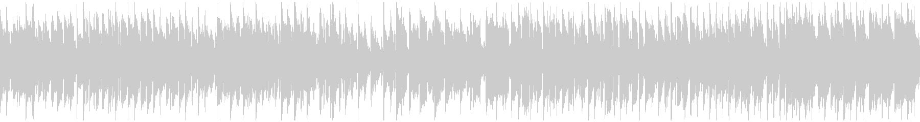 嬉しい気分の日常系リコーダー曲※ループ版の未再生の波形