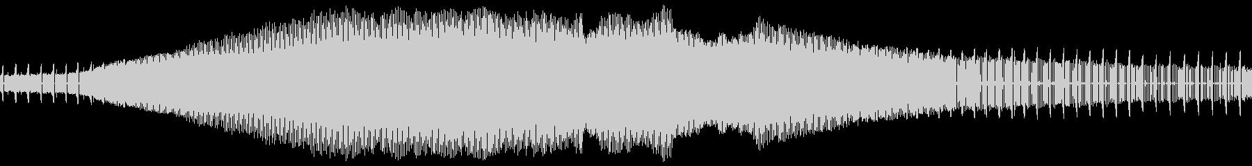 アブラゼミの鳴き声(近距離、一匹のみ)の未再生の波形