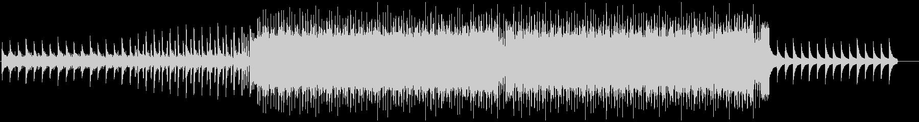 ドラムンベース風のBGMの未再生の波形
