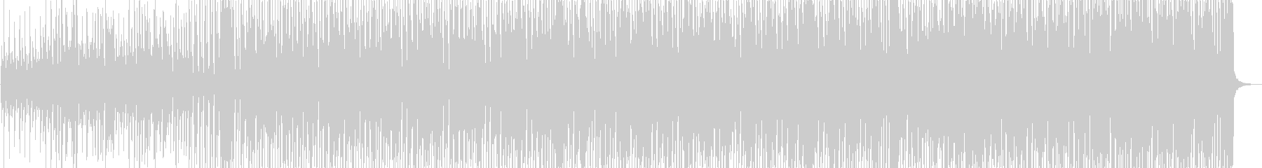伝統的なジャズ ビバップ バラード...の未再生の波形