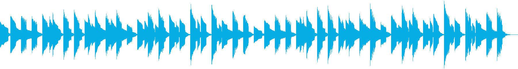 サッカーの有名な応援曲 ファミコンの再生済みの波形